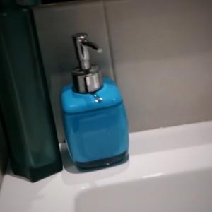 Il porta sapone liquido
